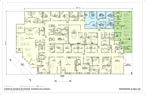 Winchester alaska inc for Alaska floor plans